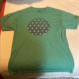 O'Neil green t shirt medium soft ONeill